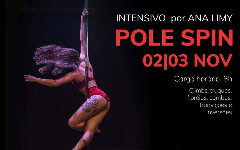 Intensivo de Pole Spin com Ana Limy